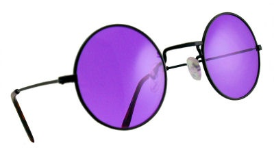 Purple Lennon Sunglasses