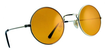 Yellow Lennon Sunglasses
